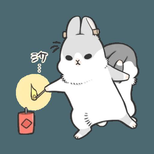 Rabbit Christmas 2 - Sticker 3