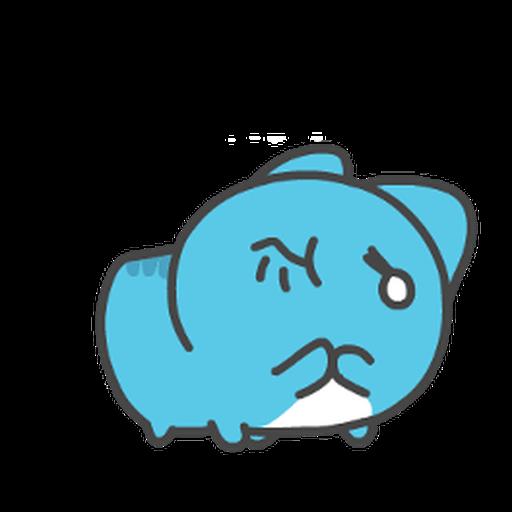 貓貓蟲-咖波 軟QQ - Sticker 1