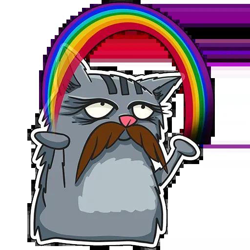 Friedrich The Cat - Sticker 21