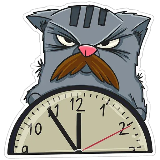 Friedrich The Cat - Sticker 15