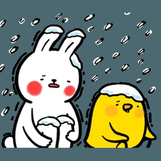 懶散兔OS5 - Sticker 30
