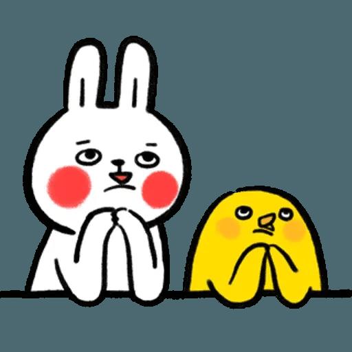 懶散兔OS5 - Sticker 25