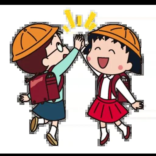 小丸子III - Sticker 21