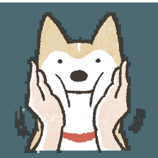 Shiba2 - Sticker 24