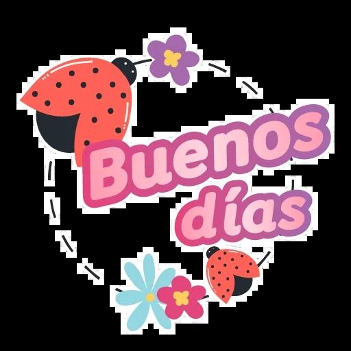 Buenos días 1 - Sticker 1
