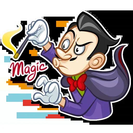The Magician - Sticker 18