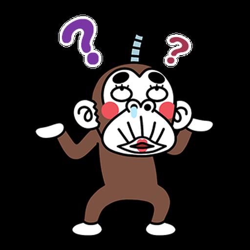 瘋狂的猴子 4 - Sticker 2