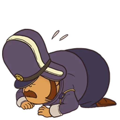 Professor Layton 2 - Sticker 5
