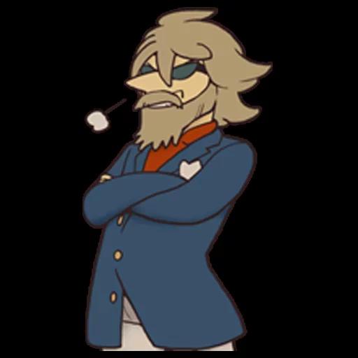 Professor Layton 2 - Sticker 7