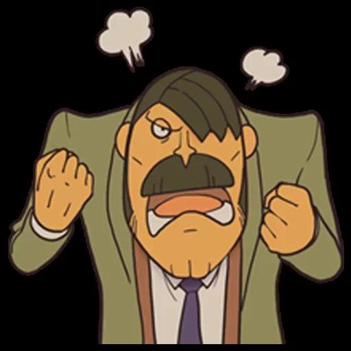 Professor Layton 2 - Sticker 9