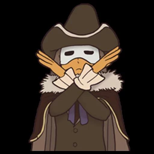 Professor Layton 2 - Sticker 6