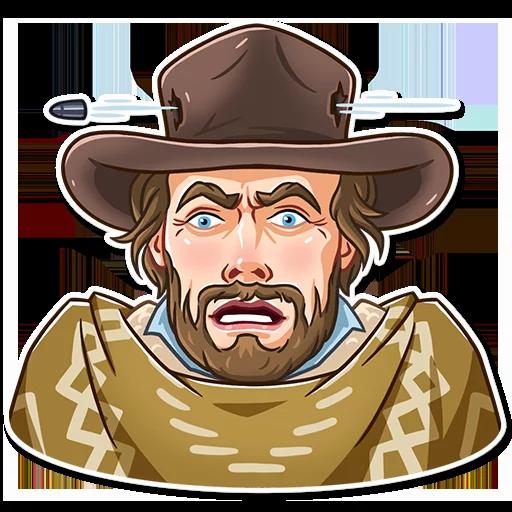 Clint Eastwood - Sticker 24
