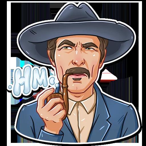 Clint Eastwood - Sticker 10