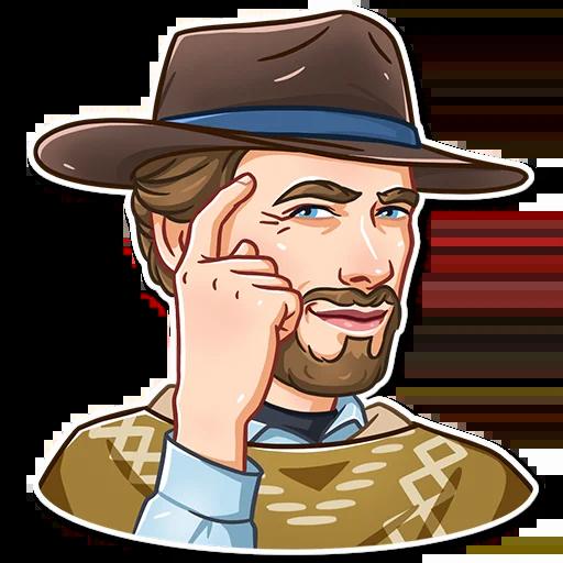 Clint Eastwood - Sticker 3