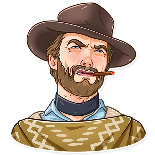Clint Eastwood - Sticker 19
