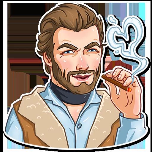 Clint Eastwood - Sticker 25