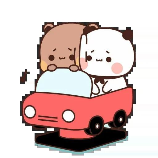 one two panda - Sticker 20