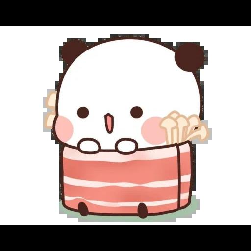 one two panda - Sticker 15