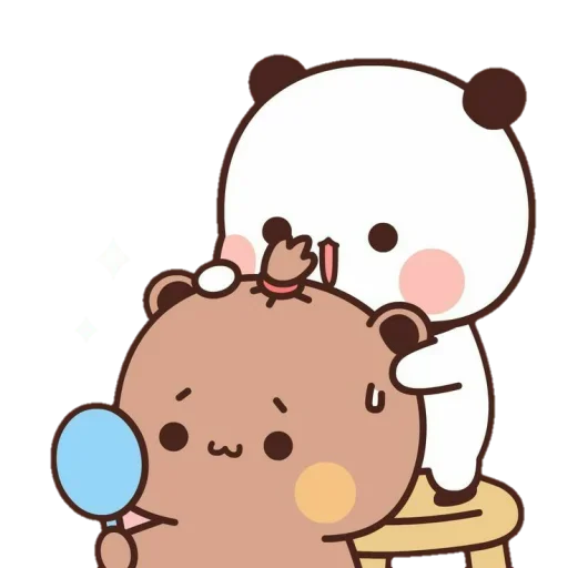 one two panda - Sticker 19