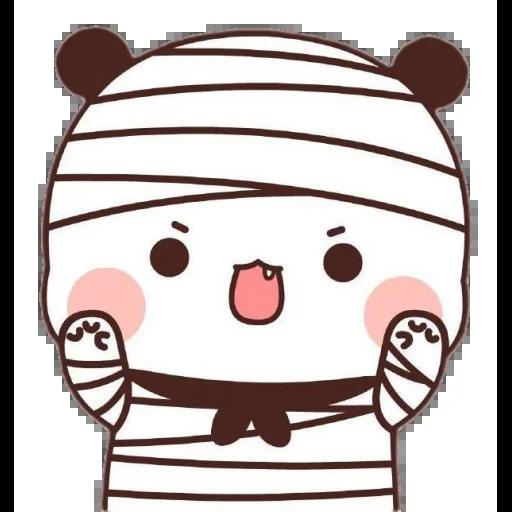 one two panda - Sticker 10