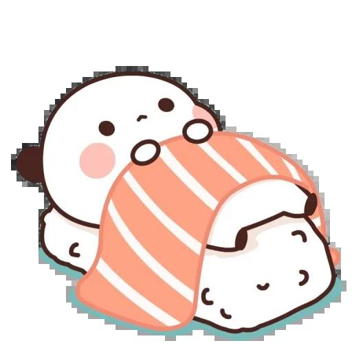 one two panda - Sticker 11