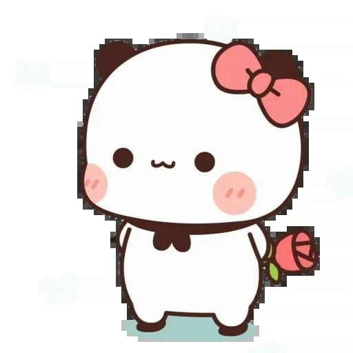 one two panda - Sticker 17