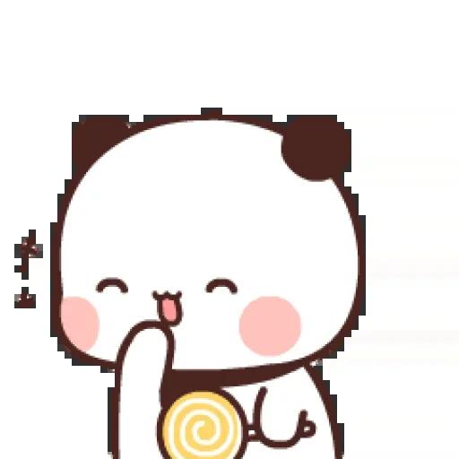 one two panda - Sticker 26