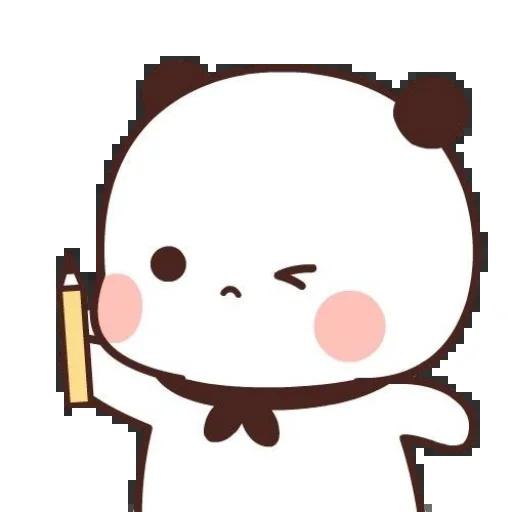 one two panda - Sticker 16