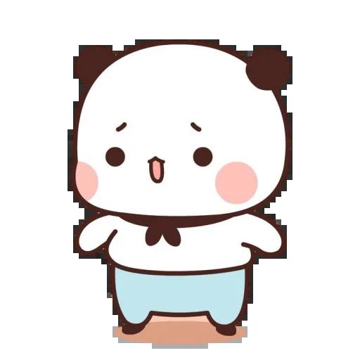 one two panda - Sticker 14