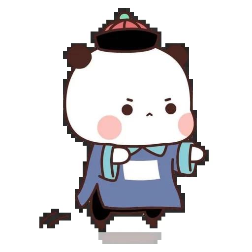 one two panda - Sticker 12