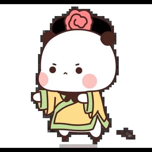 one two panda - Sticker 13