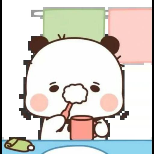 one two panda - Sticker 22