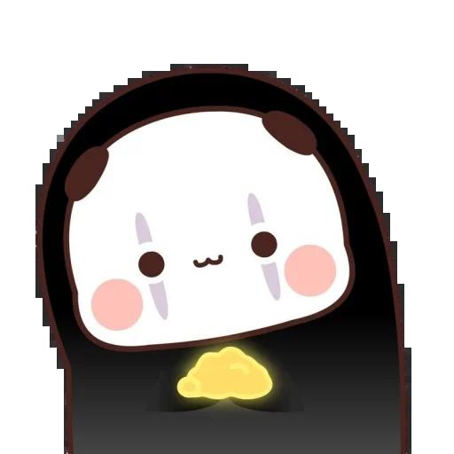 one two panda - Sticker 9