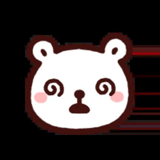 白白日記OMG都是頭表情貼2 - Sticker 6