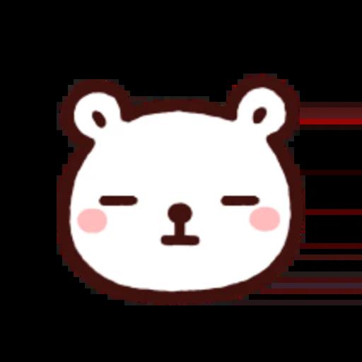 白白日記OMG都是頭表情貼2 - Sticker 21