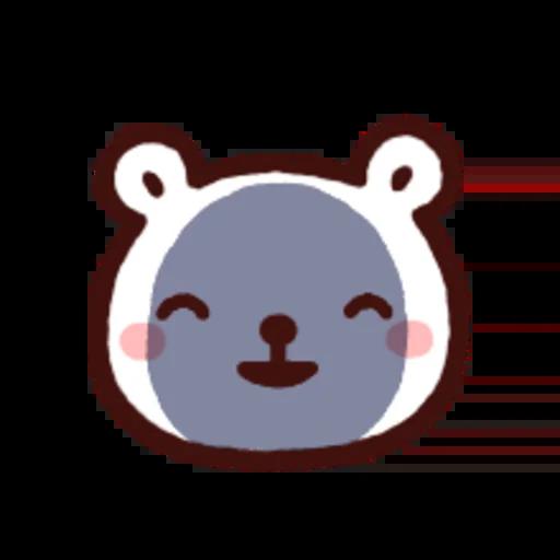 白白日記OMG都是頭表情貼2 - Sticker 24