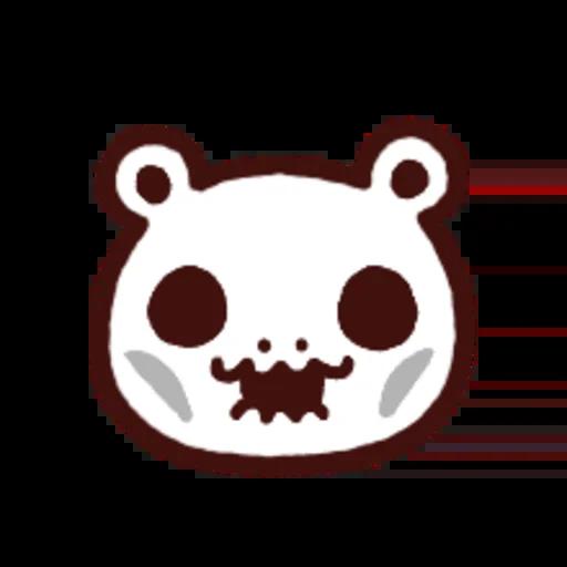 白白日記OMG都是頭表情貼2 - Sticker 11