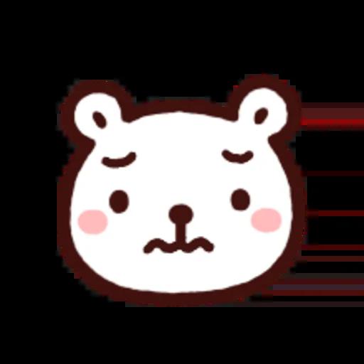 白白日記OMG都是頭表情貼2 - Sticker 5