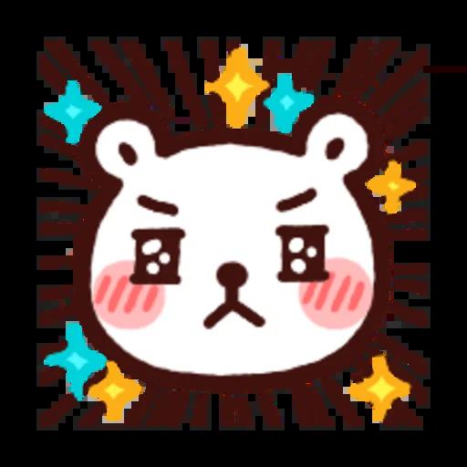 白白日記OMG都是頭表情貼2 - Sticker 7