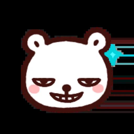 白白日記OMG都是頭表情貼2 - Sticker 19