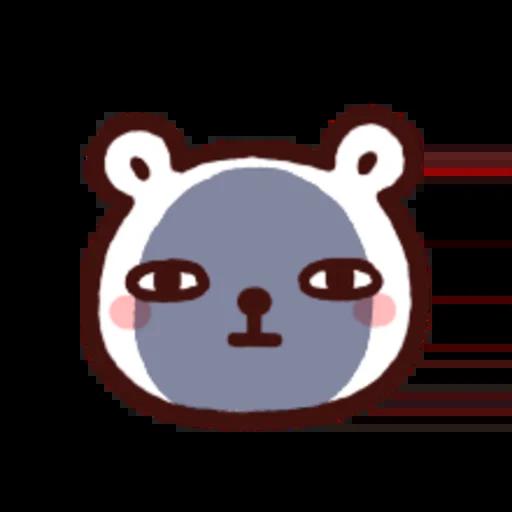 白白日記OMG都是頭表情貼2 - Sticker 10