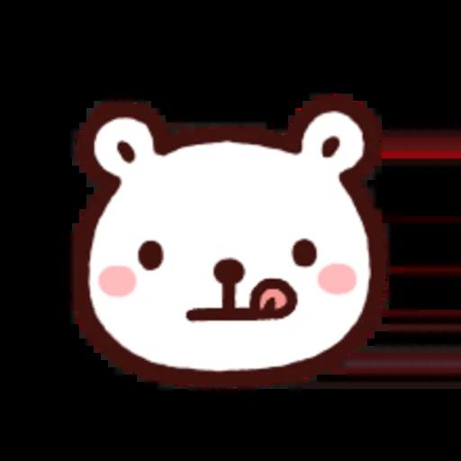 白白日記OMG都是頭表情貼2 - Sticker 12