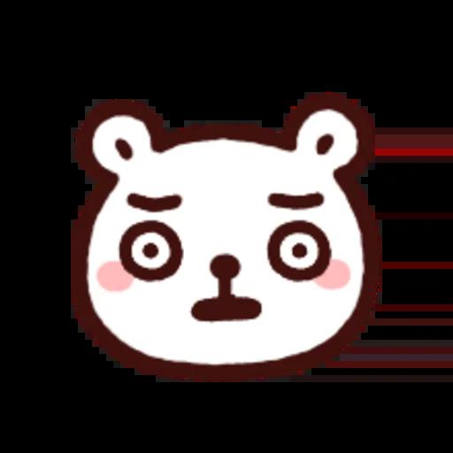 白白日記OMG都是頭表情貼2 - Sticker 9