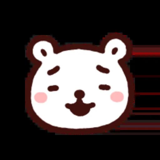 白白日記OMG都是頭表情貼2 - Sticker 1