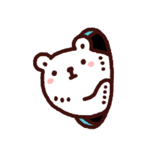白白日記OMG都是頭表情貼2 - Sticker 27