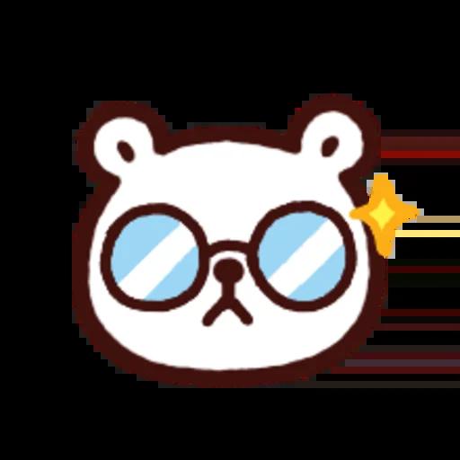 白白日記OMG都是頭表情貼2 - Sticker 8