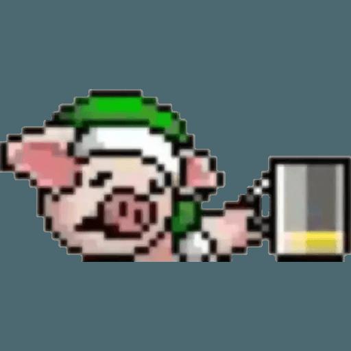 ???Lihkg pig - Sticker 8