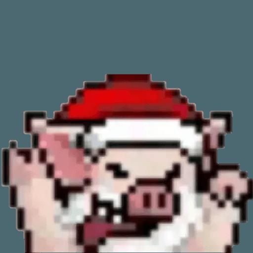 ???Lihkg pig - Sticker 12
