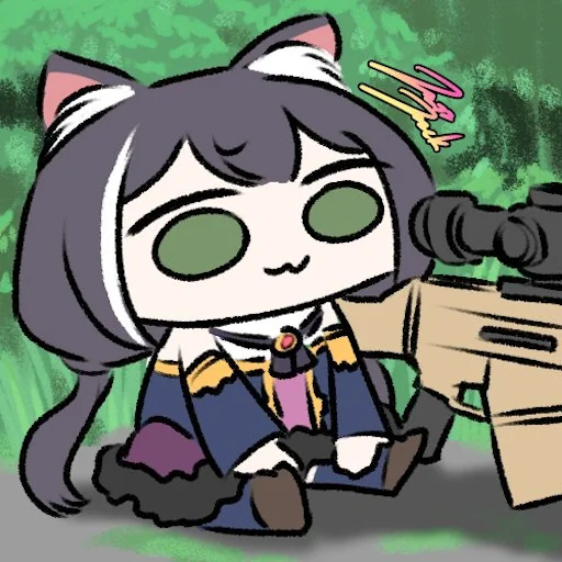 接頭猫 - Sticker 2