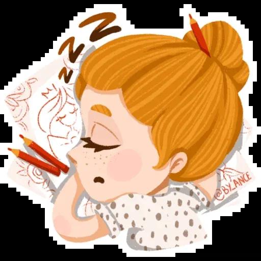 Redhaired - Sticker 15